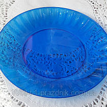 Стеклопласт тарелка синяя 1 шт.