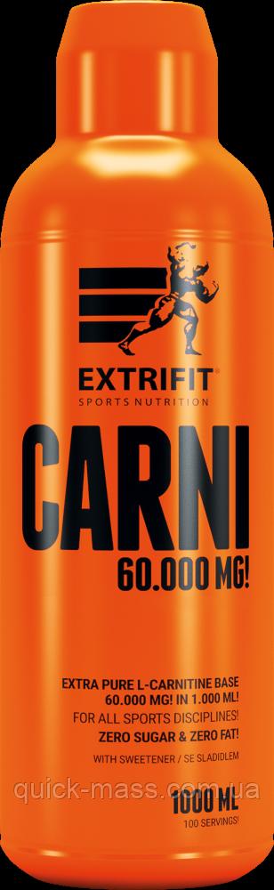 Жиросжигатель Extrifit Carni Liquid 60000 mg 1000ml