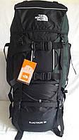 Рюкзак туристический, для походов, отдыха, экспедиций каркасный, The North Face большой 80 литров (A49)