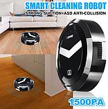 Автоматический Робот-пылесос XIMEI Smart , Black, фото 3