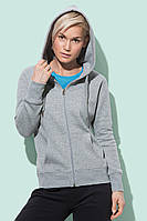 Куртка-кенгуру жіноча з капюшоном