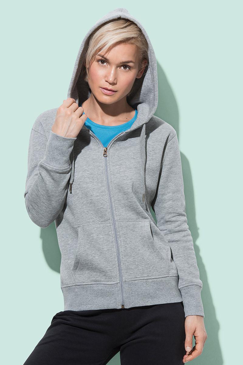 Куртка-кенгуру жіноча з капюшоном, фото 1
