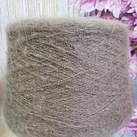 Итальянская бобинная пряжа для вязания Ecafil Virginia мохер