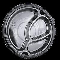 Менажница (вкладка) прозрачная для круглого контейнера (25 шт в уп.), фото 1