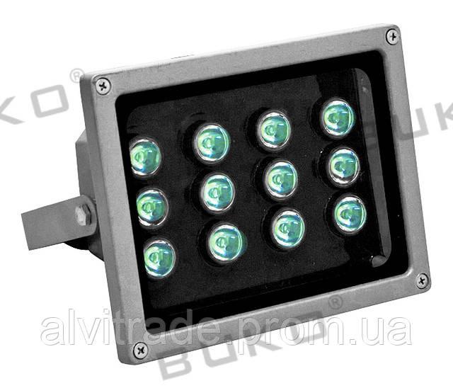 Светодиодный прожектор (LED) BUKO BK382-12*1W LED IP65