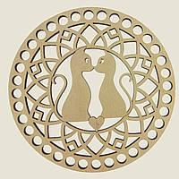 Круглое донышко для вязанных корзин Shasheltoys (100156.12) 12 см