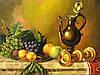 Картины для интерьера Натюрморт с вином