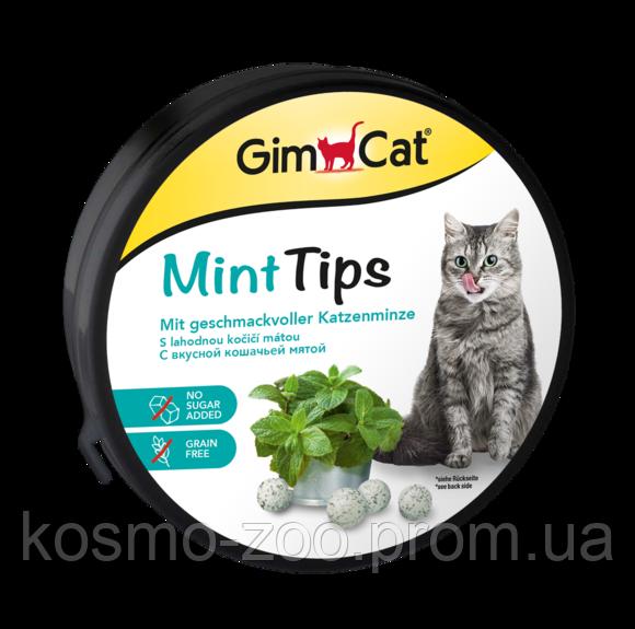 Лакомство для котов ДжимКет с кошачьей мятой и витаминами (Gimpet Cat-Mintips) 330шт в тубе