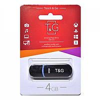 Накопитель USB T&G 4GB Black TG012-4GBBK