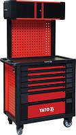 Шкаф для инструментов Yato профессиональный сервисный на 7 шухляд