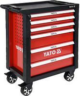 Инструментальная тележка Yato на колёсах 6 ящиков со 177 ед