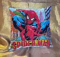 Декоративная детская подушка Человек-паук