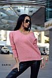 Женский стильный свитер турецкой  вязки (разные цвета), фото 2