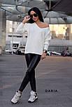 Женский стильный свитер турецкой  вязки (разные цвета), фото 4
