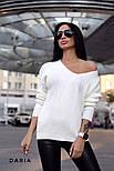 Женский стильный свитер турецкой  вязки (разные цвета), фото 6