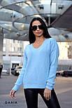 Женский стильный свитер турецкой  вязки (разные цвета), фото 7