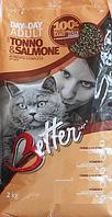 Better корм для кошек с тунцом и лососем, 0.8 кг