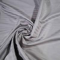 Страйп сатин серый 1*1 ш. 220 см