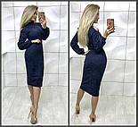 Женское платье из ангоры (в расцветках), фото 3