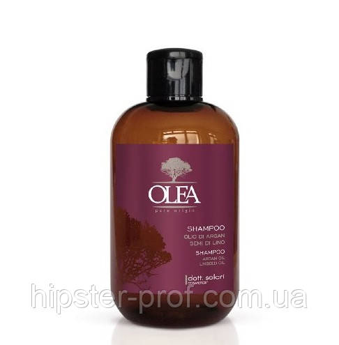 Шампунь з маслом аргана і насіння льону Dott. Solari Olea Shampoo Argan Oil Linseed Oil 250 ml