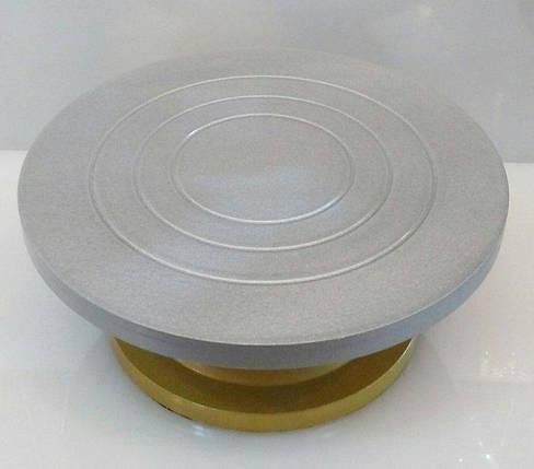 Подставка крутящаяся для работы с тортом Empire Ø 295* Н120 мм (шт) EM 8990, фото 2