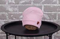 """Демисезонная шапка """"Grant"""", розовая, фото 1"""