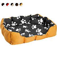 Ліжко для собаки з ковдрою і подушкою