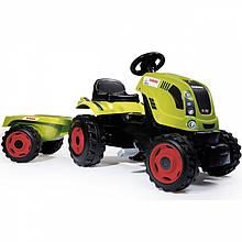 Педальний Трактор з причепом Claas XL Smoby 710114