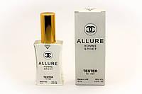 Мужской парфюм Chanel Allure Homme Sport  тестер 45 мл