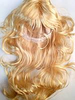 Карнавальный парик бежевый