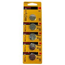 Батарейка таблетка Kodak 2016 5шт/бл