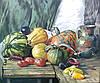 Картина для дачи Деревенский натюрморт