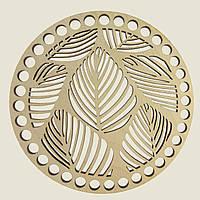 Круглое донышко для вязанных корзин Shasheltoys (100155.18) 18 см