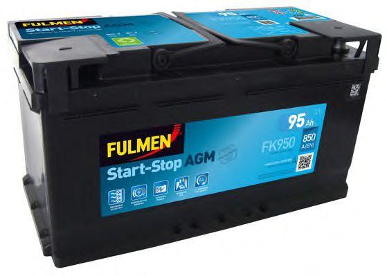 АКБ FULMEN Start/Stop AGM 6CT-95Aз 850А R+ 353*175*190