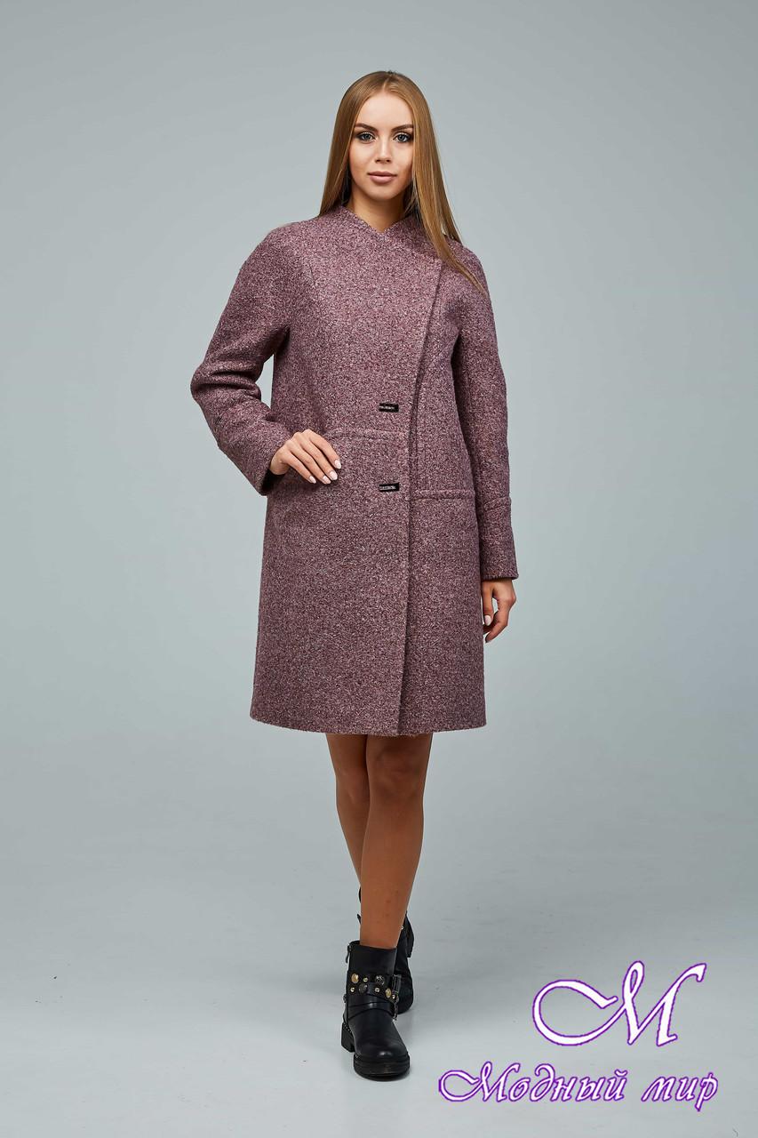 Женское элегантное демисезонное пальто (р. 44-54) арт. 1222 Тон 2