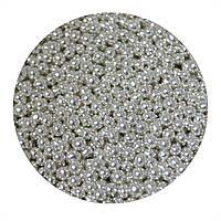 """Посыпка """"Серебряные шарики 3 мм."""", 50 гр."""