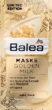 Поживна маска для обличчя Maske Golden Milk 2st*8ml