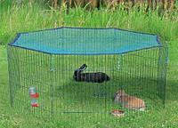 Вольер загон с сеткой Trixie 60x57 см-8cекцмй (для щенка ,котенка ,кролика