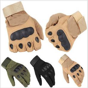 Тактические перчатки с пальцами и костями, полнопалые Oakley реплика (Airsoft)