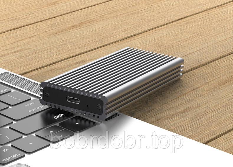 Карман M.2 SSD SATA -> USB