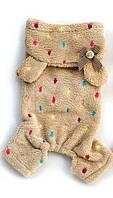 Комбинезон пижама с капюшоном для собак  L