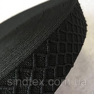 Резинка поясная - 3см/25ярд. черный