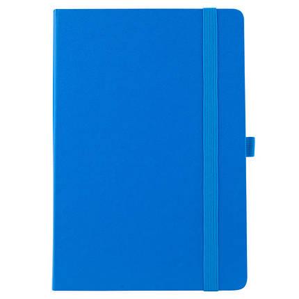 Еженедельник полудатированный Axent Strong 8602-20-07-A, 125*195мм, голубой, фото 2
