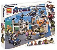 """Конструктор Bela 11262 Super Heroes """"Битва на базе Мстителей"""", 723 деталей. Аналог Lego Super Heroes 76131, фото 1"""