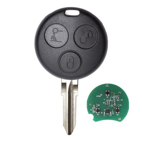 Ключ 433Mhz  для smart mercedes City,Rodster,Fortwo,Brabus 450 451 452