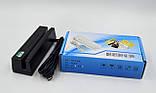 Пристрої для зчитування магнітних карт Netum DMK-402U Black (NT-400), фото 5