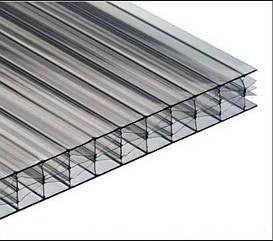 Сотовый поликарбонат SOTON TITAN  (прозрачный) 10 мм