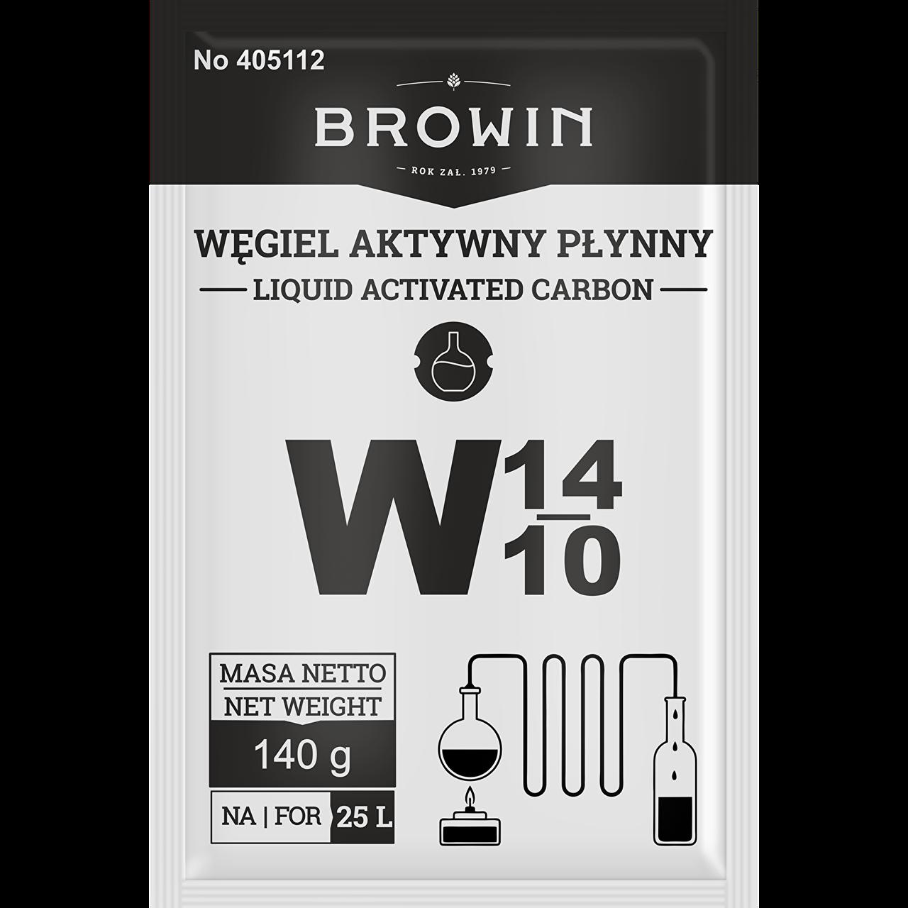 Активированный уголь жидкий Biowin 140 г