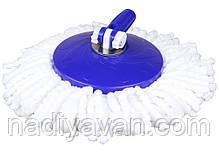 Швабра моп вращающаяся центрифуга 360 с ведром, фото 2
