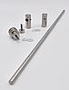 ODF-13-02-01-L600 Полотенцедержатель 600 с ручкой, сатин, фото 3